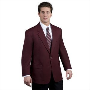 Men's EasyWear 2-Button Polywool Blazer