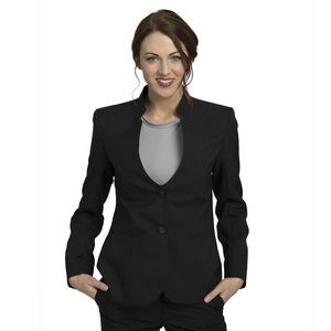 Ladies Mandarin Collar UltraLux Blazer