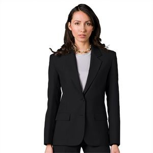 Ladies Single Breasted 2-Button EasyWear Blazer